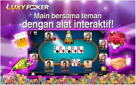 Game Poker Luxy Poker Texas Holdem APK Roid Terbaru I